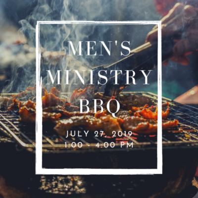 Men's Ministry BBQ